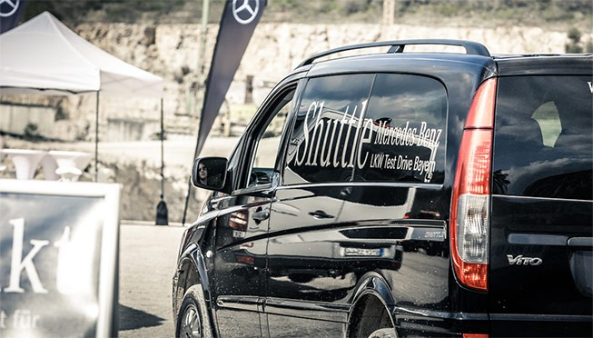 Shuttle Service Mercedes Benz