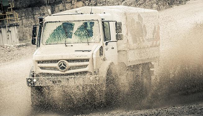 LKW Testdrive Mercedes Benz