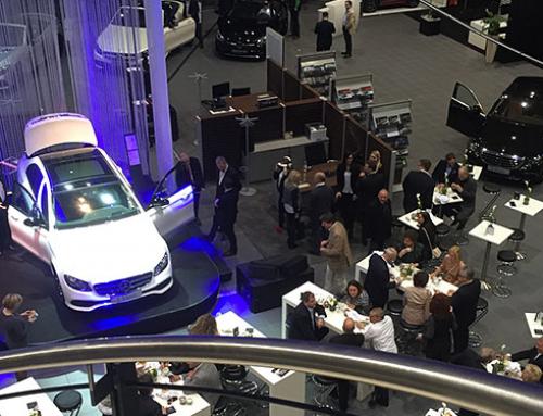Mercedes Benz E-Klasse Präsentation